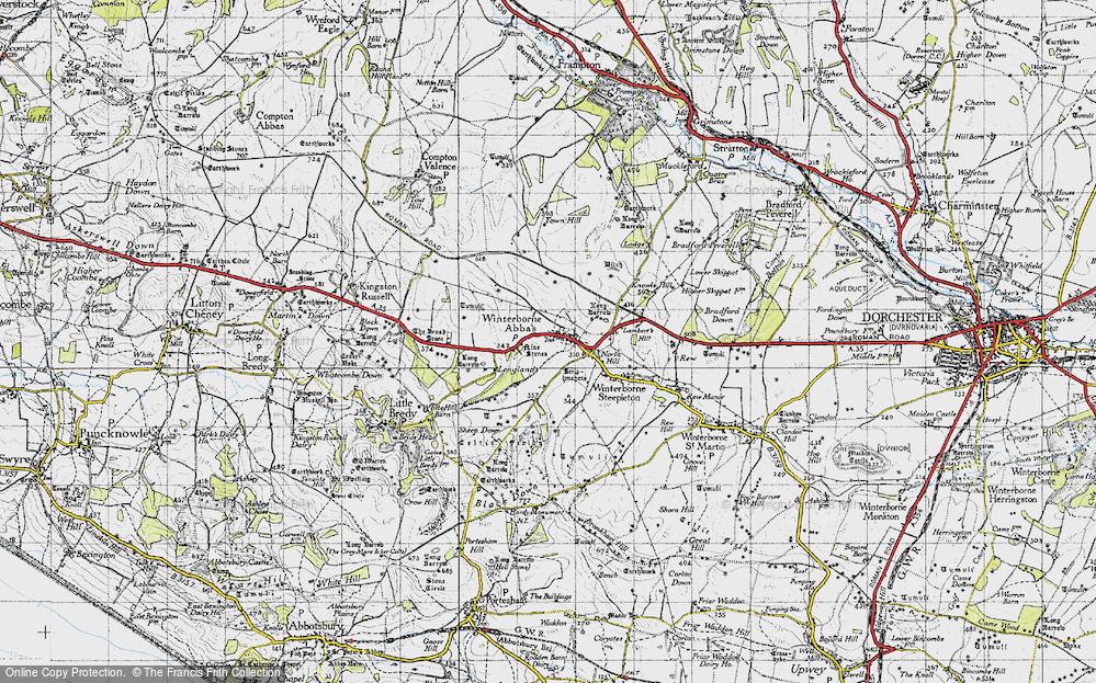 Winterbourne Abbas, 1945