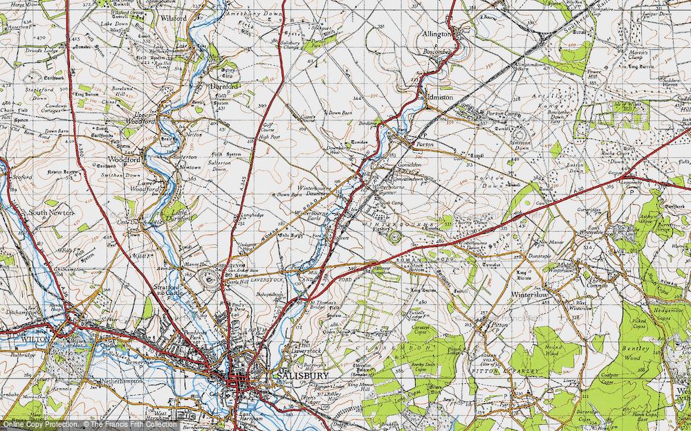 Winterbourne Dauntsey, 1940