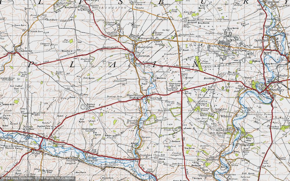 Winterbourne Stoke, 1940