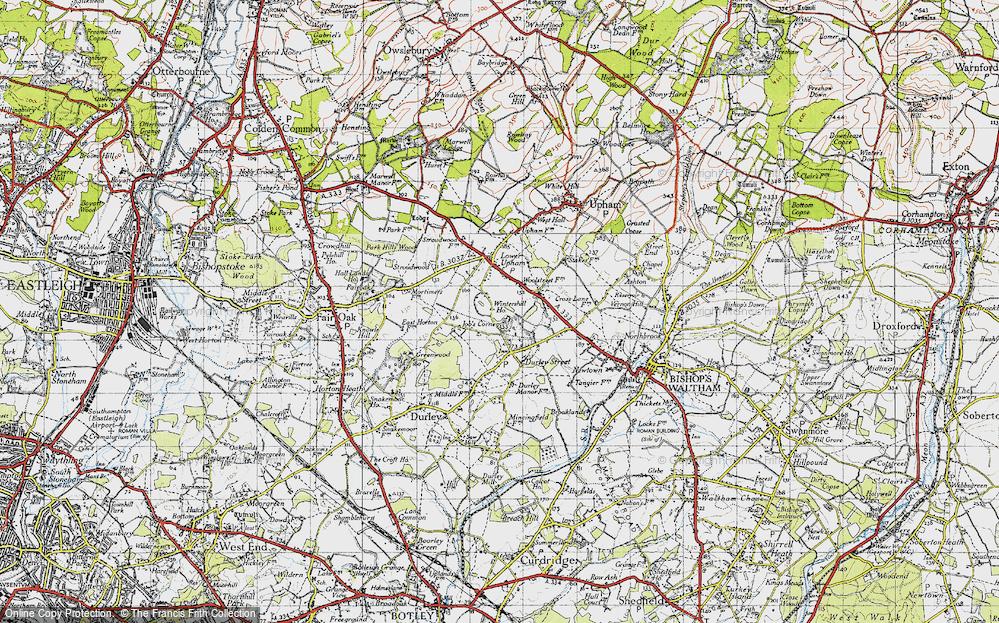 Wintershill, 1945