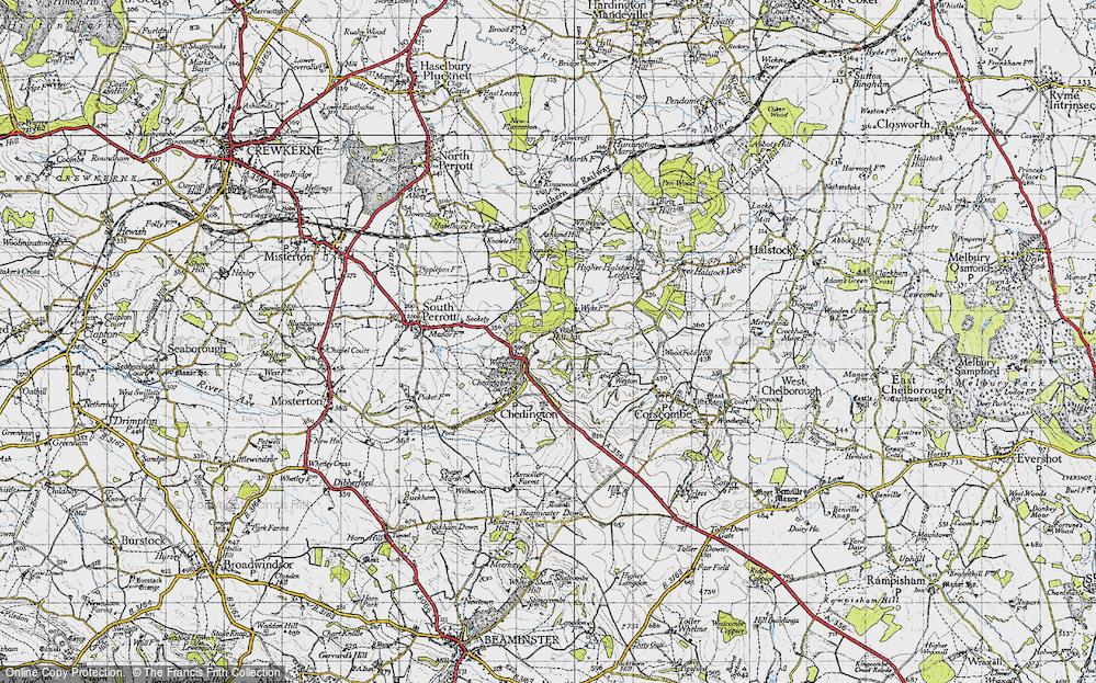 Winyard's Gap, 1945