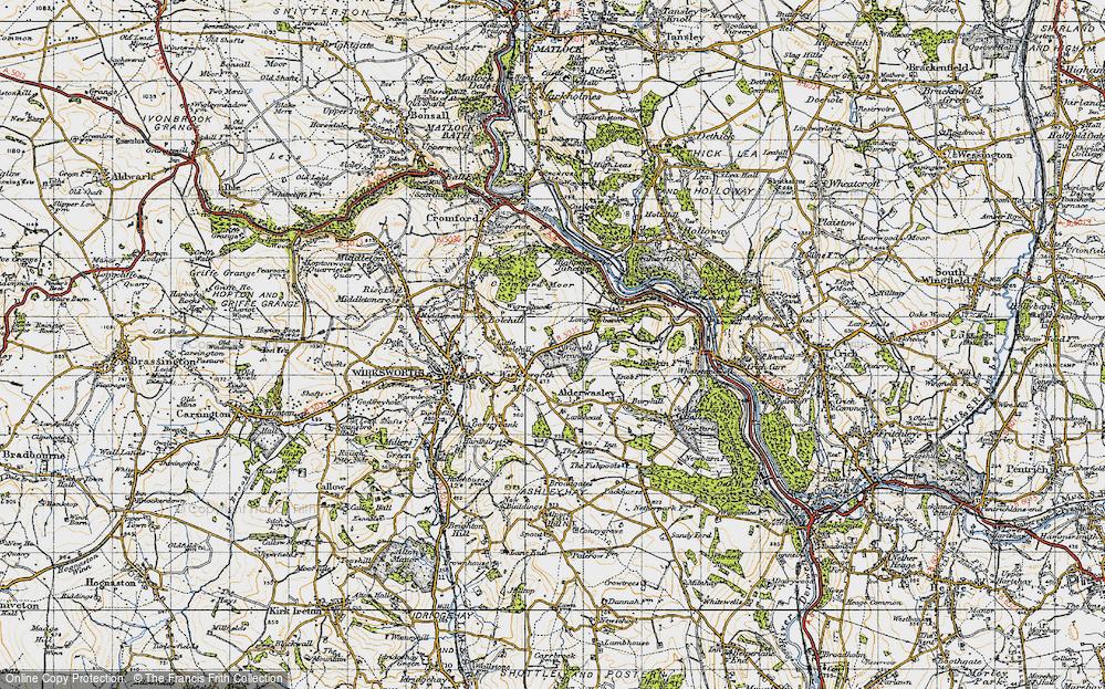 Wirksworth Moor, 1947
