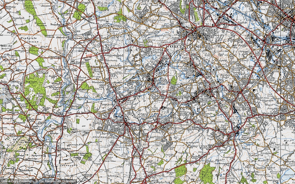 Withymoor Village, 1946