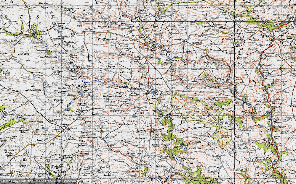 Withypool, 1946