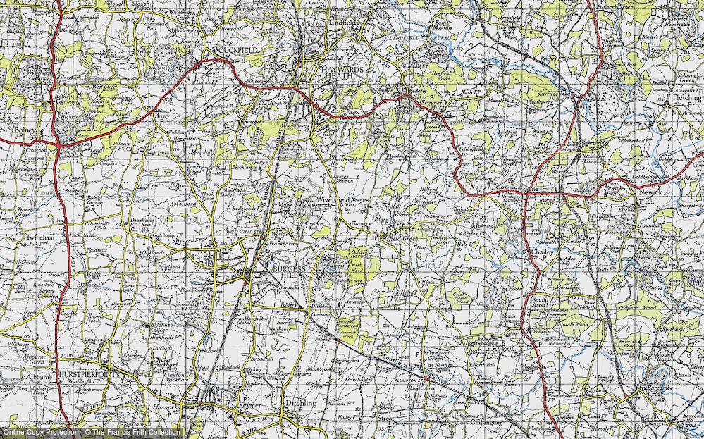 Wivelsfield, 1940