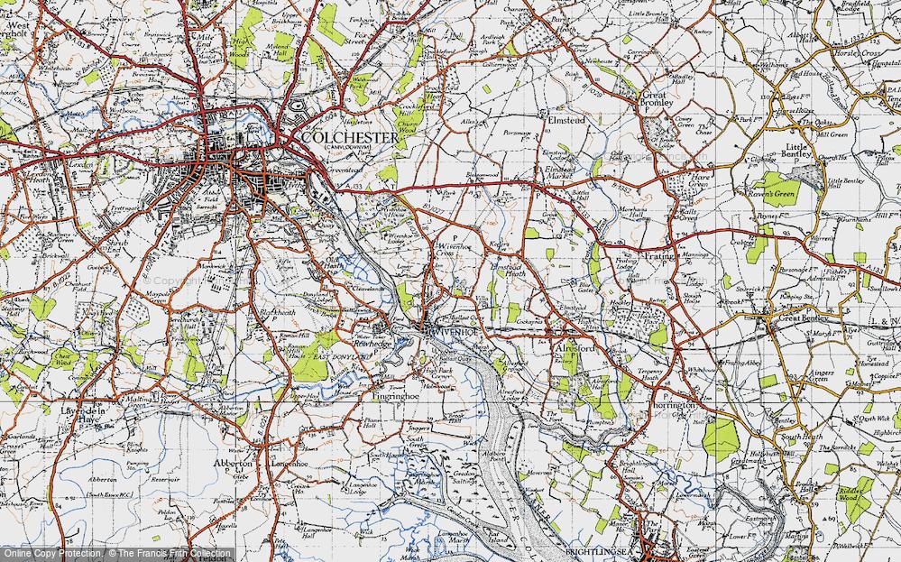 Wivenhoe, 1945