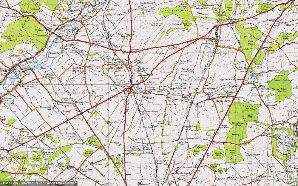 Wonston, 1945