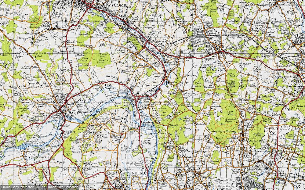 Wooburn, 1945