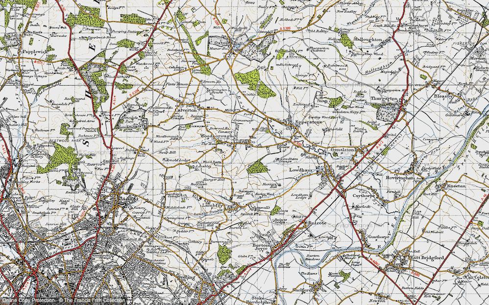 Woodborough, 1946