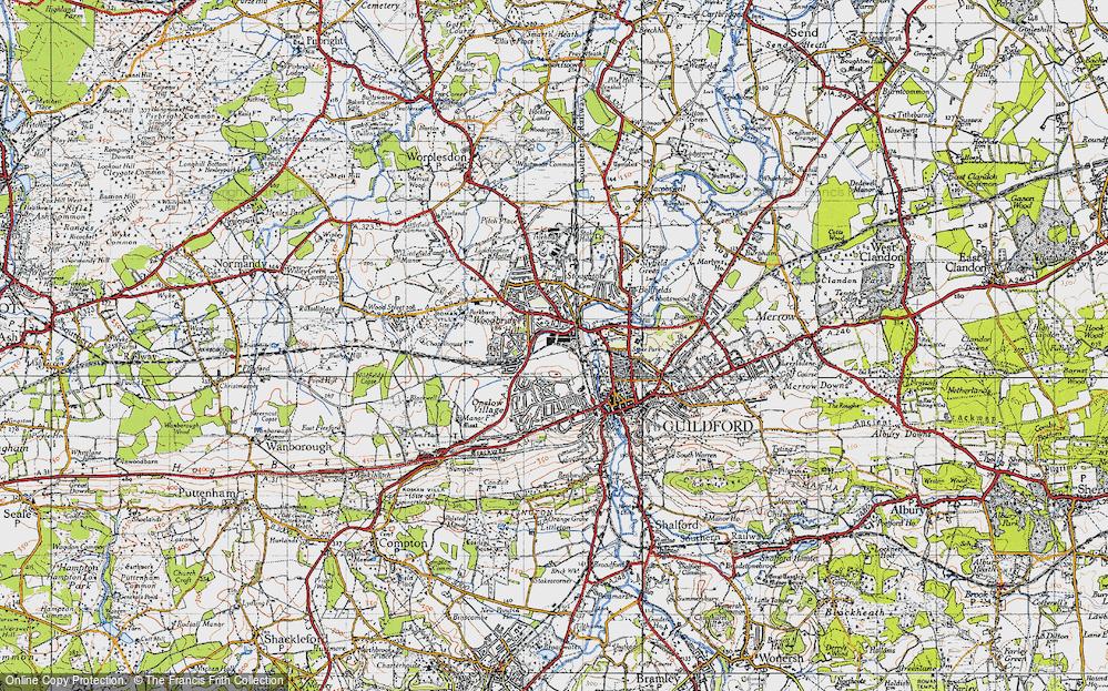 Woodbridge Hill, 1940