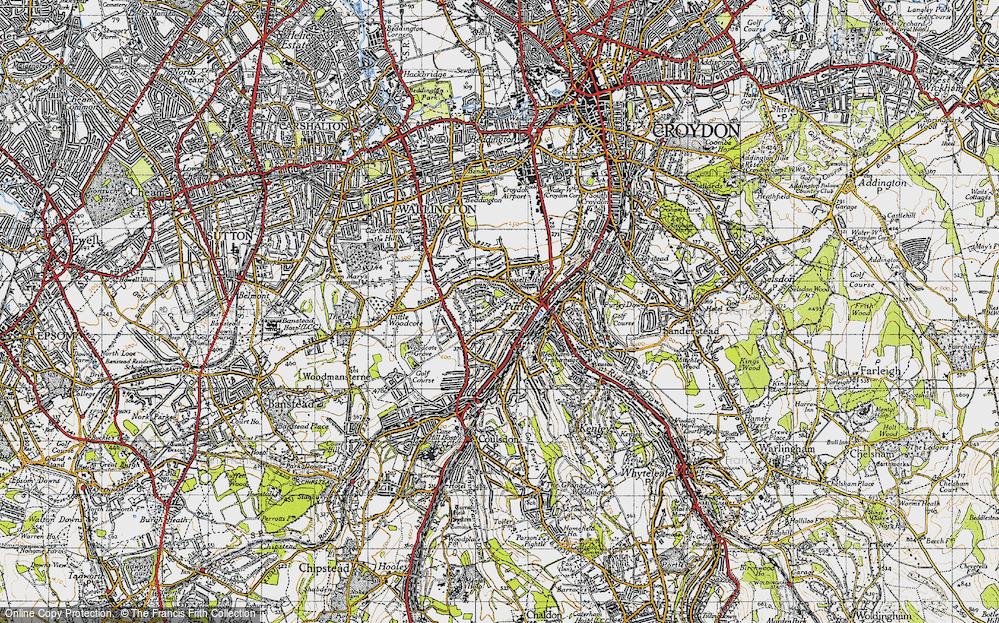 Woodcote, 1945