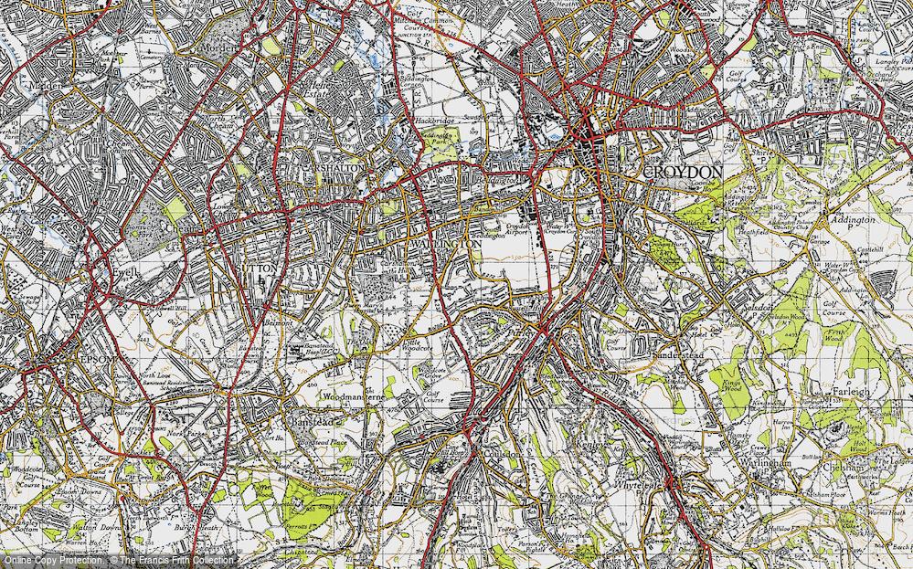 Woodcote Green, 1945