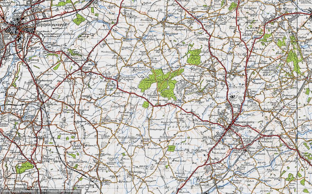 Woodcote Green, 1947