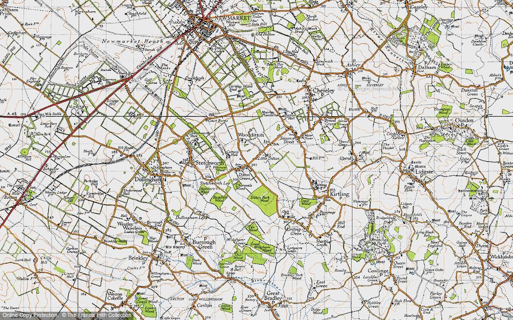 Woodditton, 1946