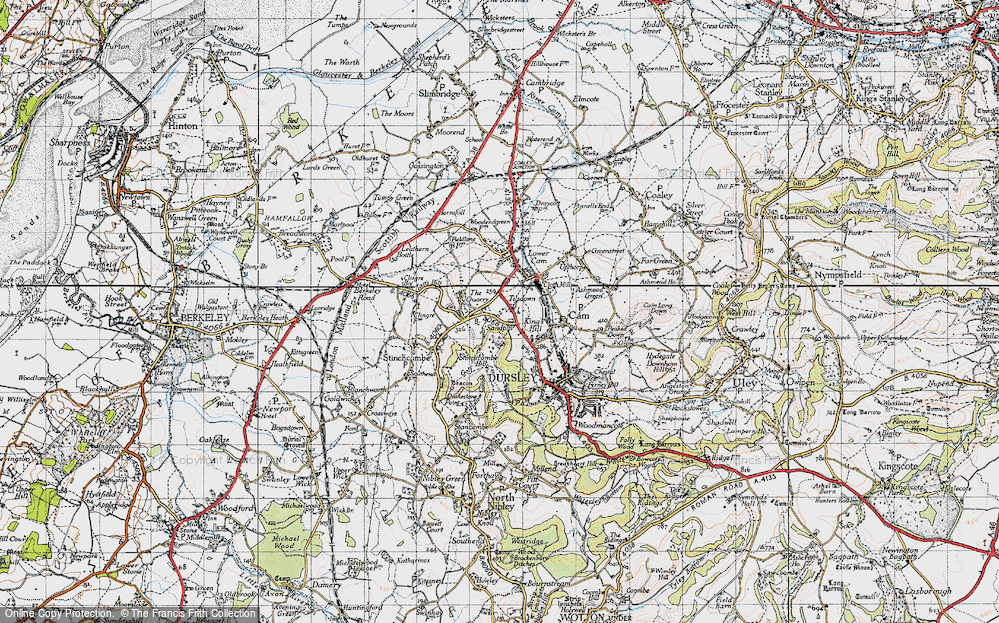 Old Map of Woodfield, 1946 in 1946