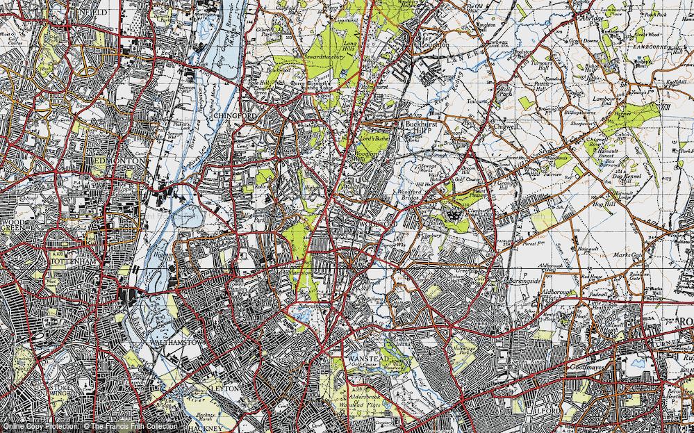 Woodford Green, 1946