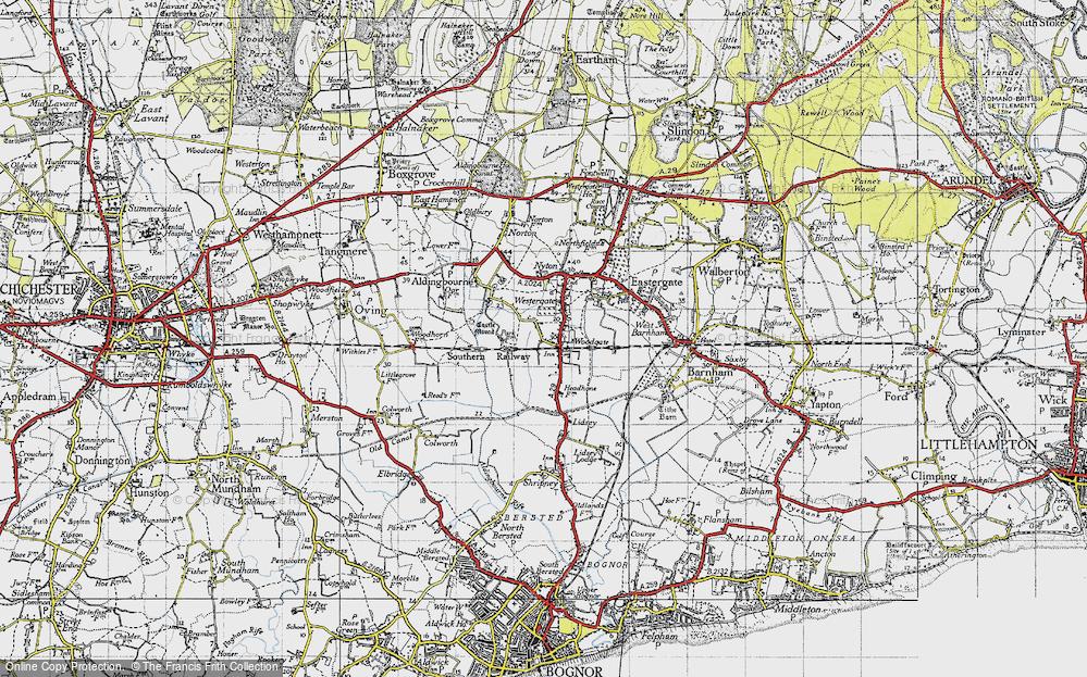 Woodgate, 1945