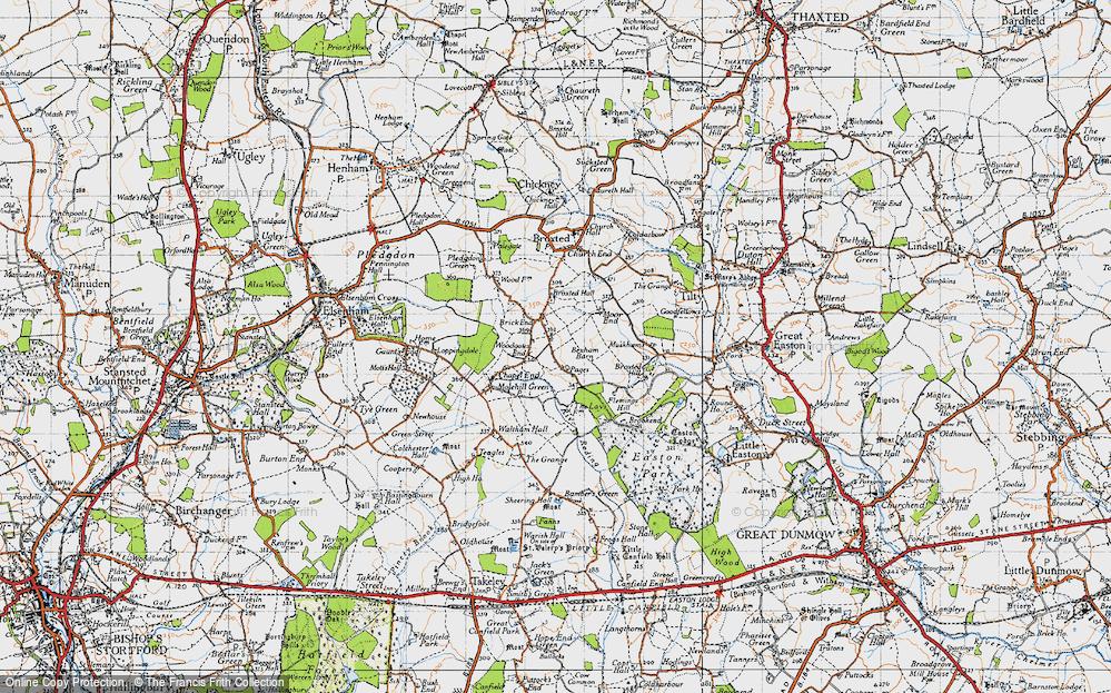 Woodgates End, 1946