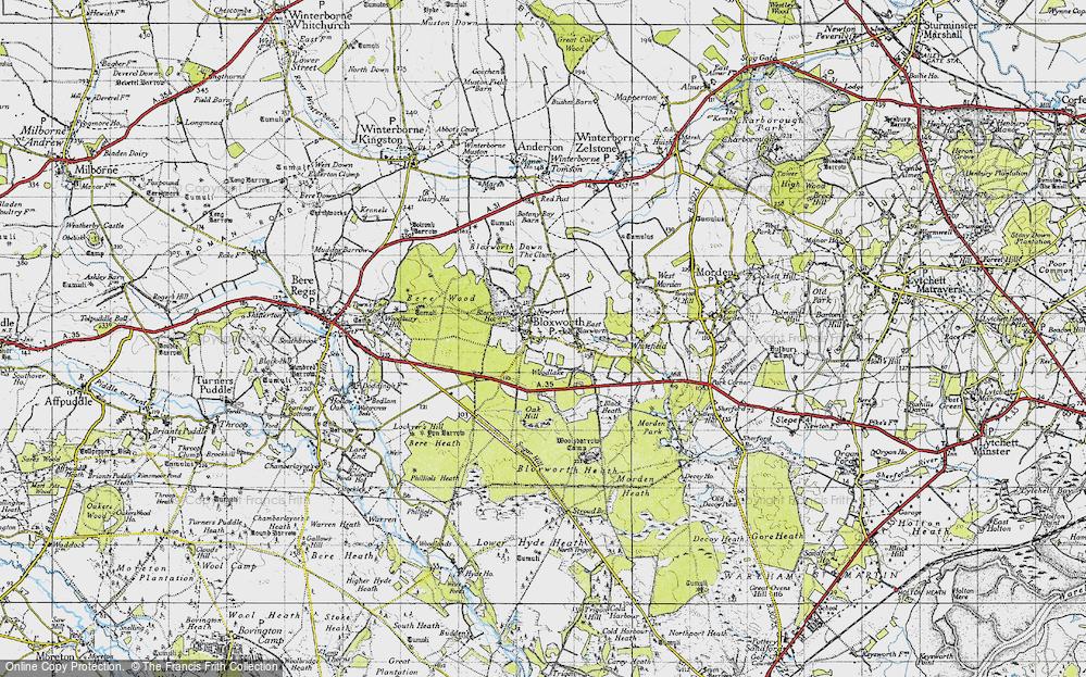 Woodlake, 1945