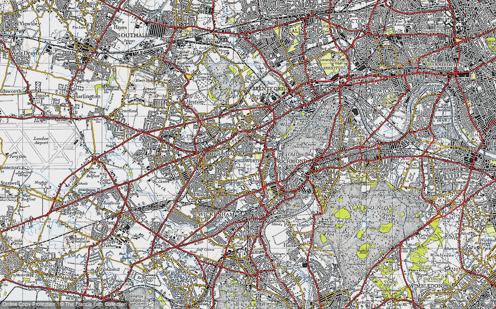 Woodlands, 1945