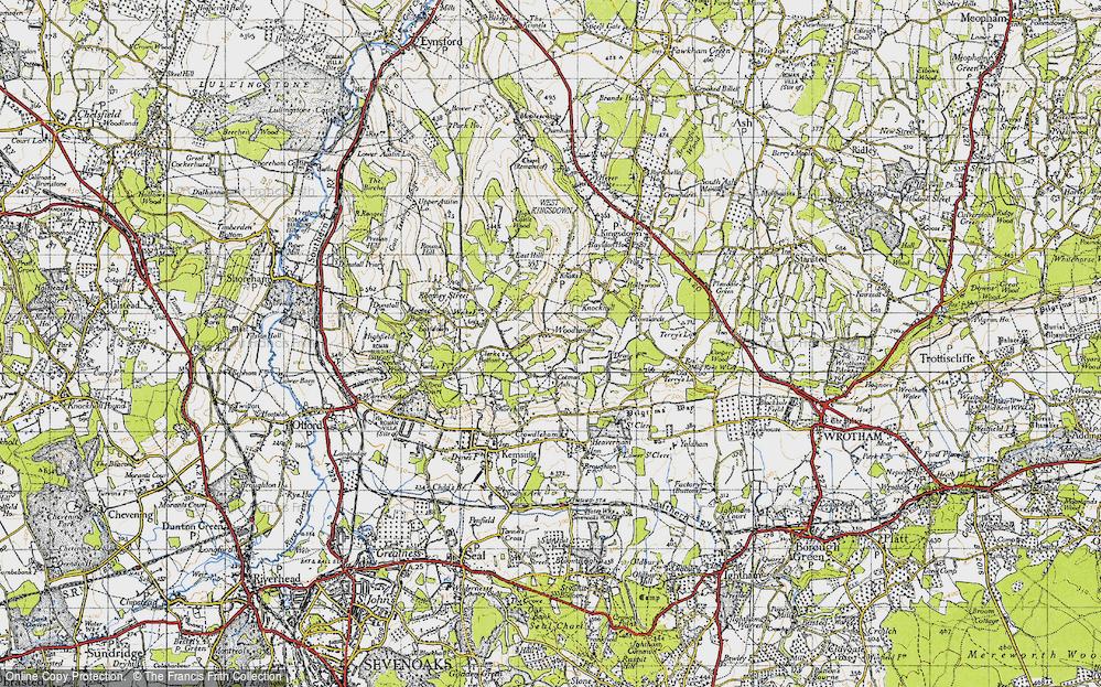 Woodlands, 1946