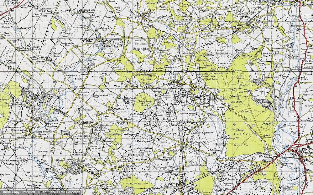 Woodlands Common, 1940