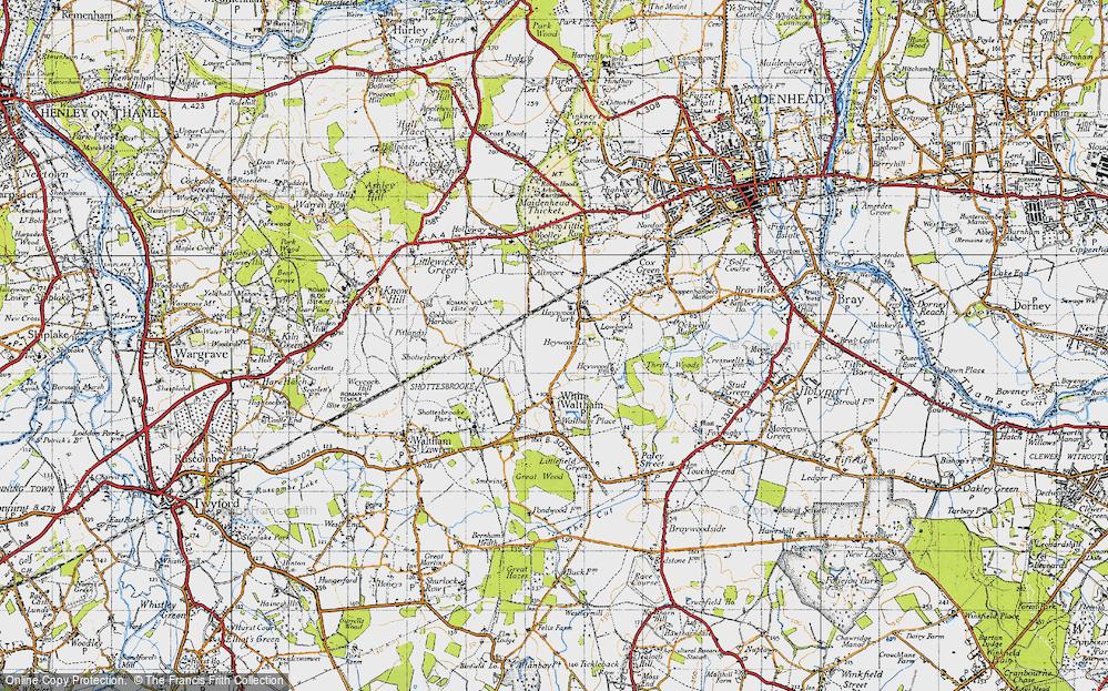 Woodlands Park, 1947