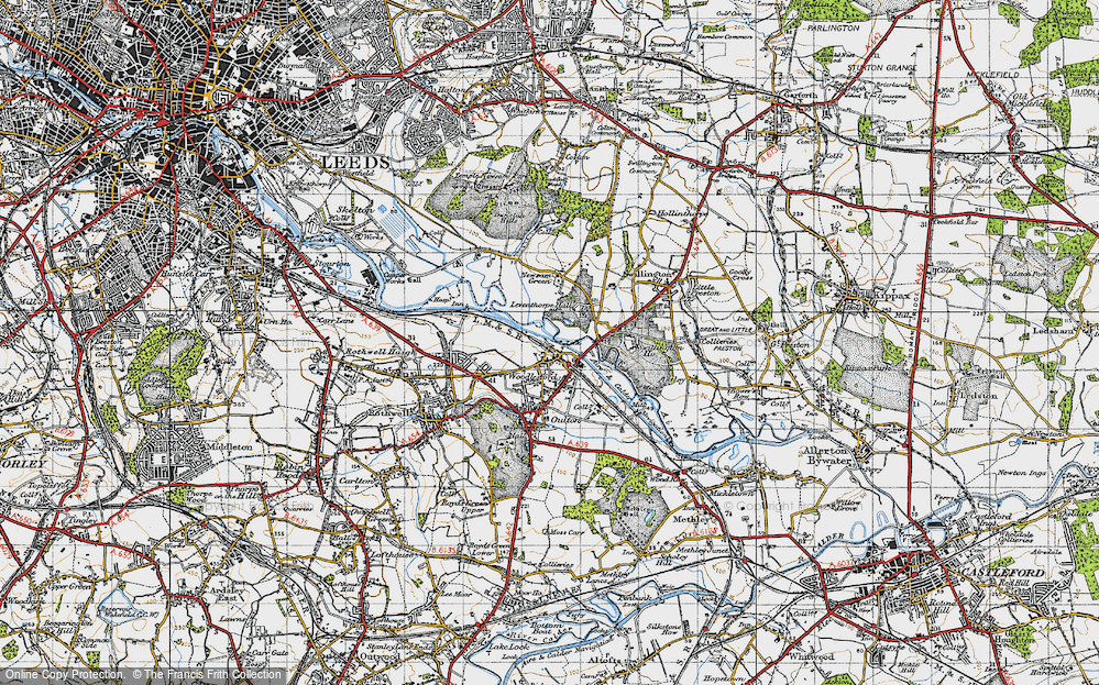 Woodlesford, 1947
