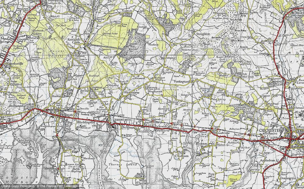 Woodmancote, 1945