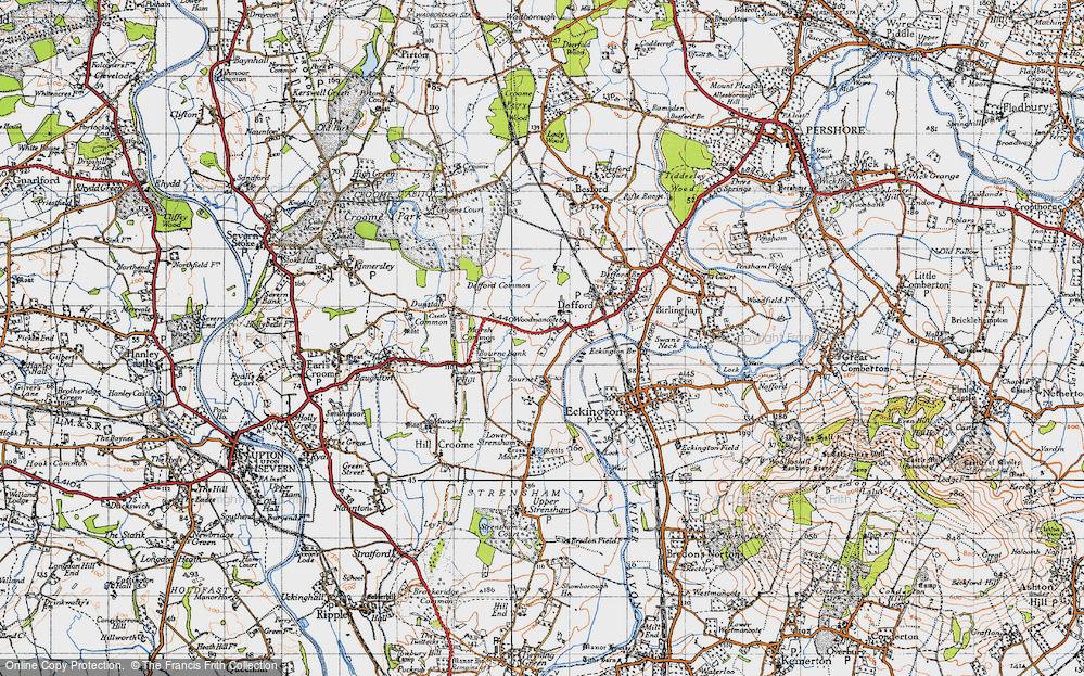 Woodmancote, 1946