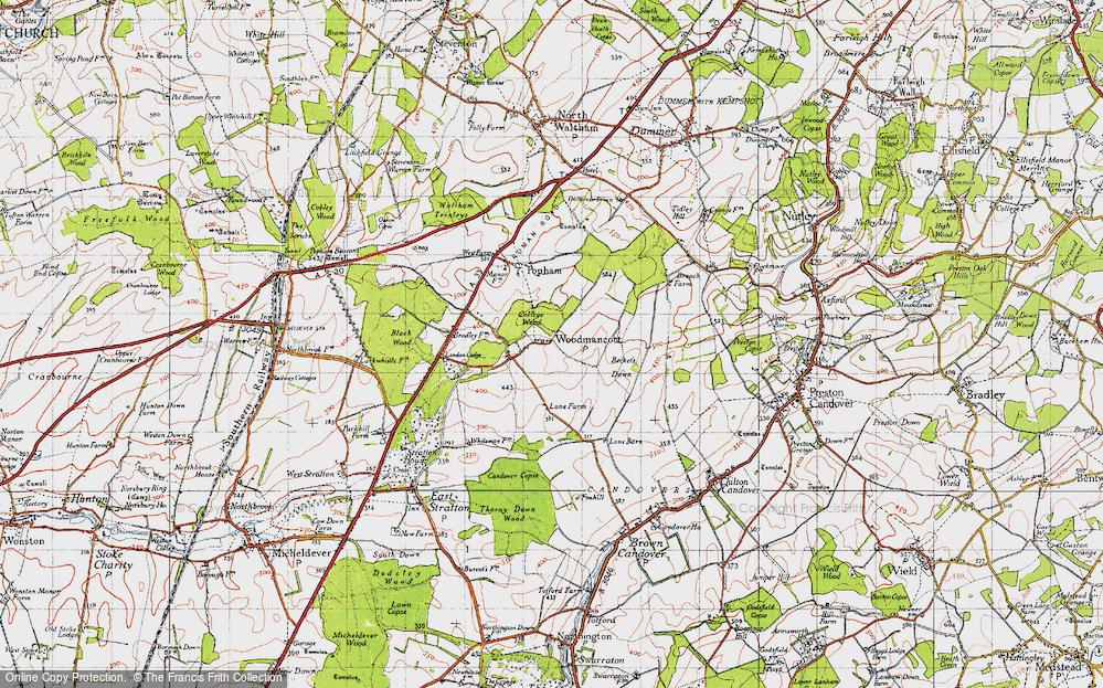 Woodmancott, 1945