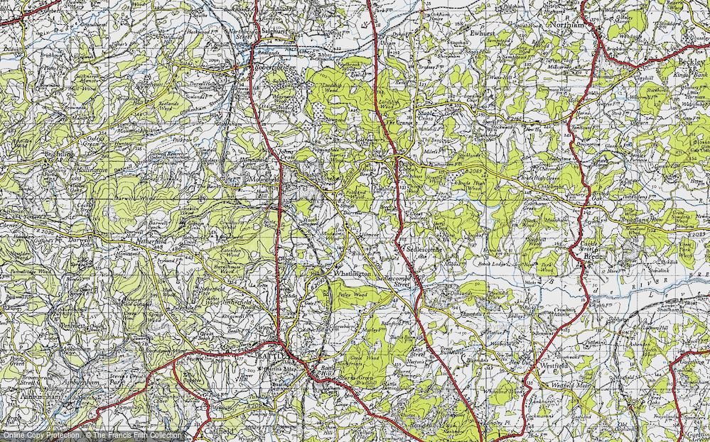 Woodmans Green, 1940