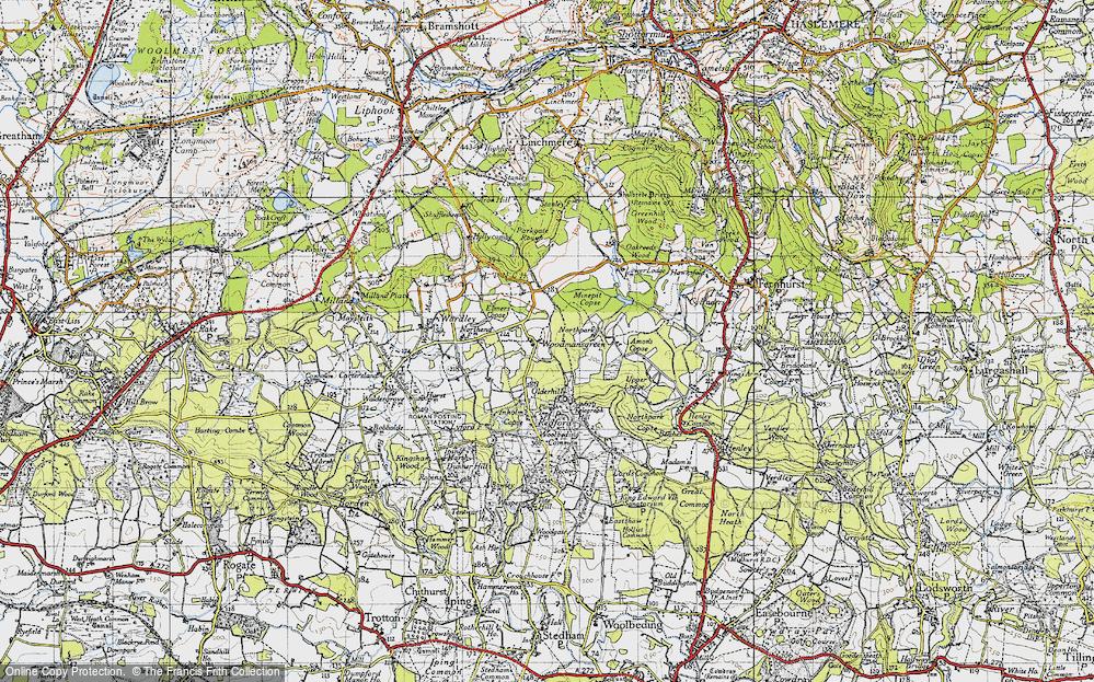 Woodmansgreen, 1940