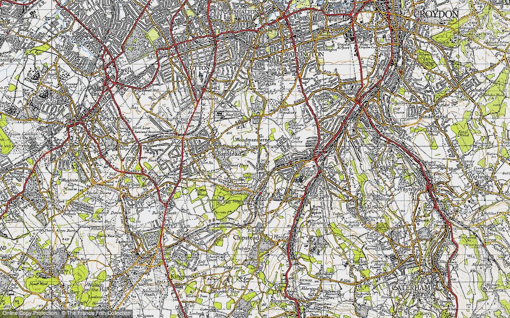 Woodmansterne, 1945