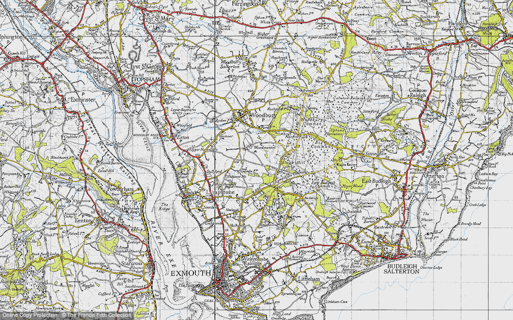 Old Map of Woodmanton, 1946 in 1946