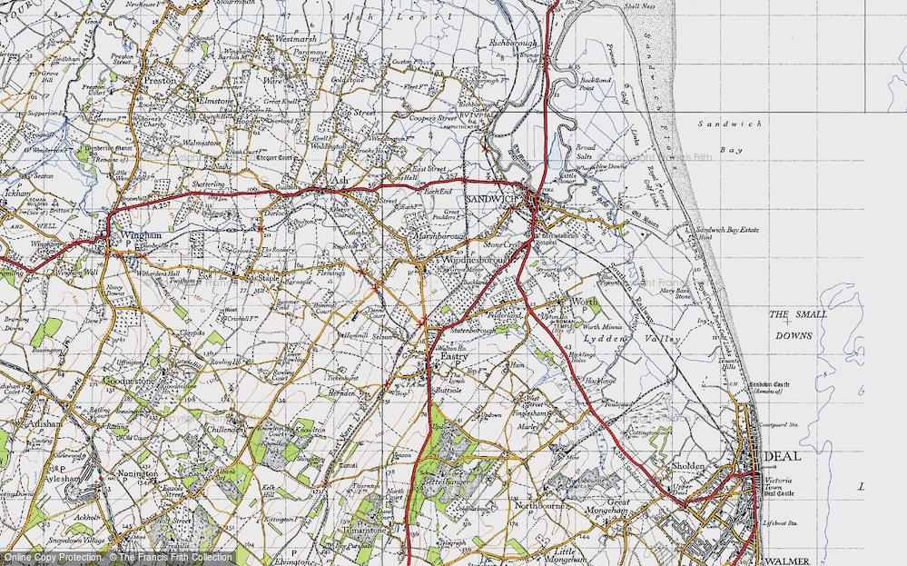 Woodnesborough, 1947