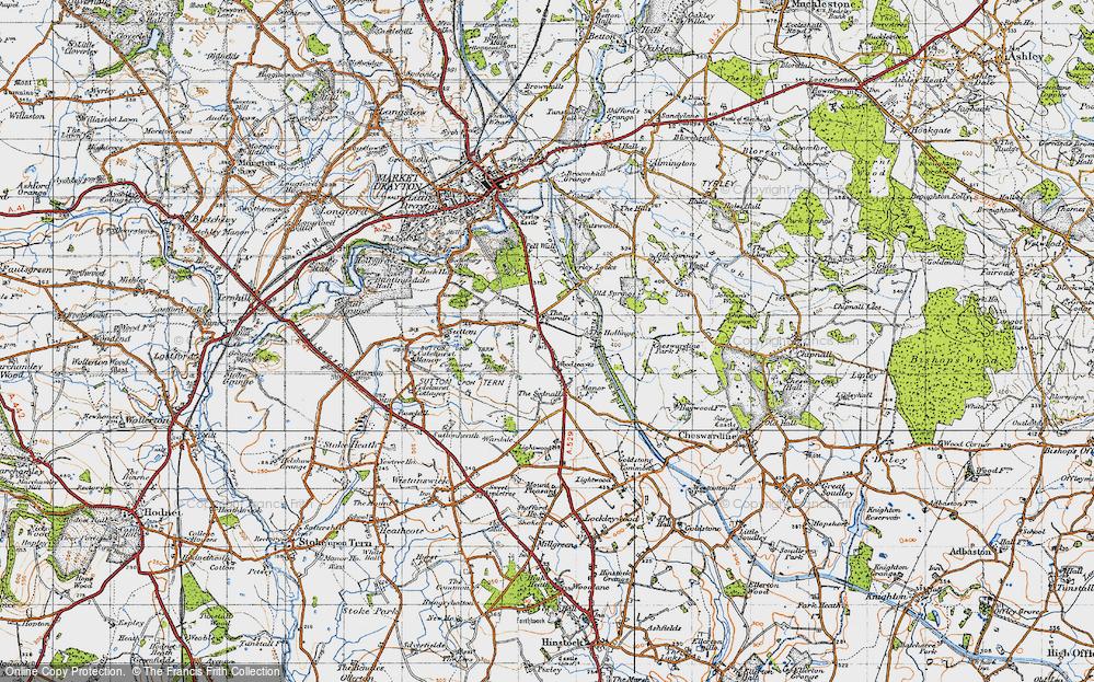 Woodseaves, 1947