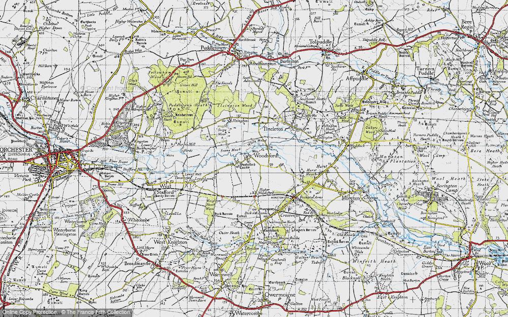 Woodsford, 1945