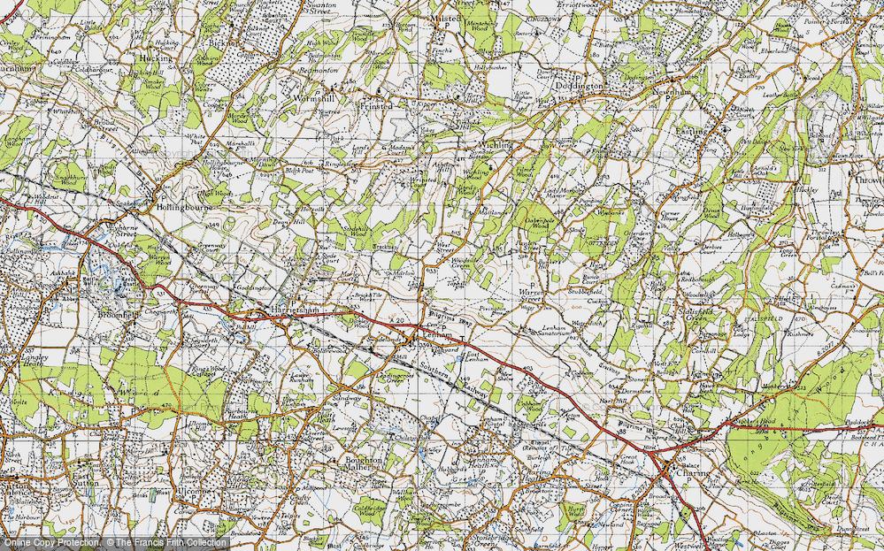 Woodside Green, 1940