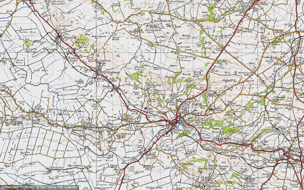 Wookey Hole, 1946