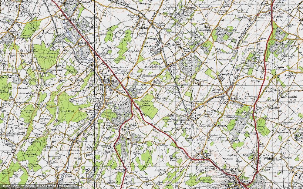 Woolage Green, 1947