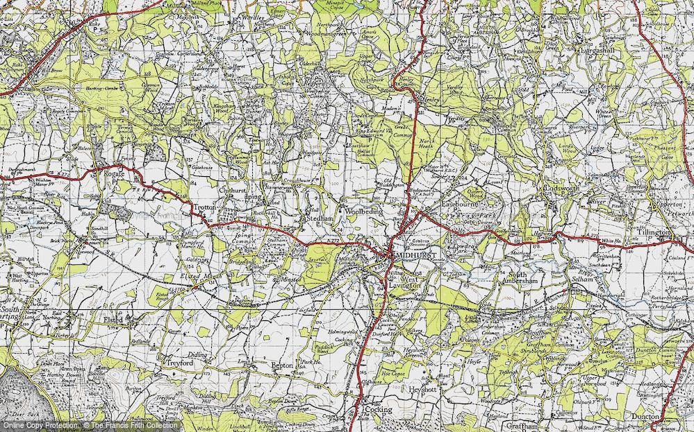 Woolbeding, 1945