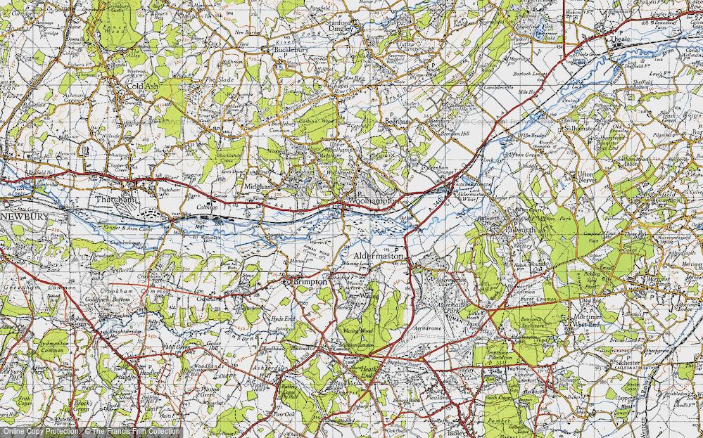 Woolhampton, 1945
