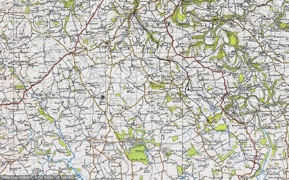Woollaton, 1946