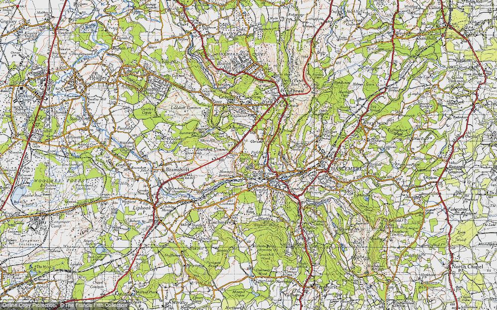 Woolmer Hill, 1940