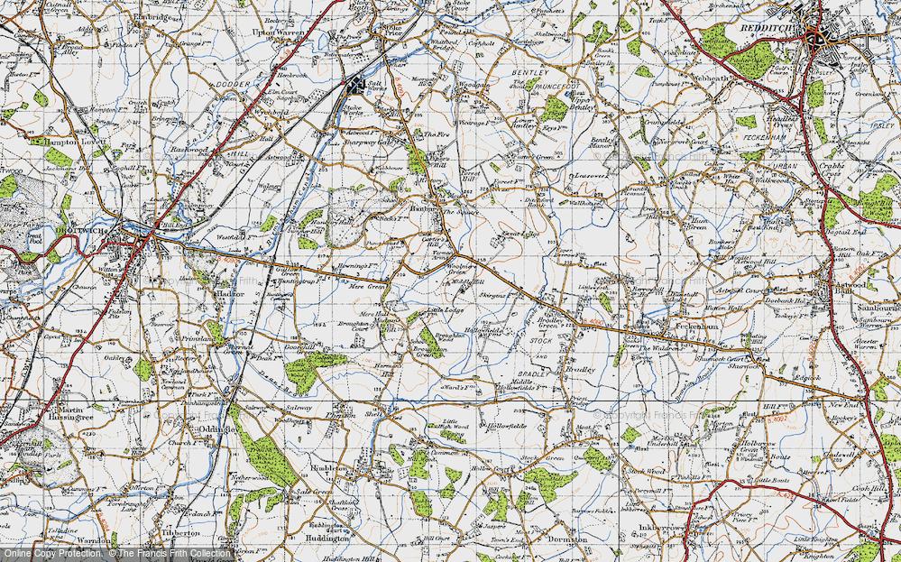 Woolmere Green, 1947