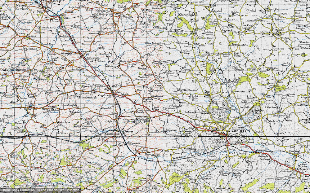 Old Map of Woolsgrove, 1946 in 1946