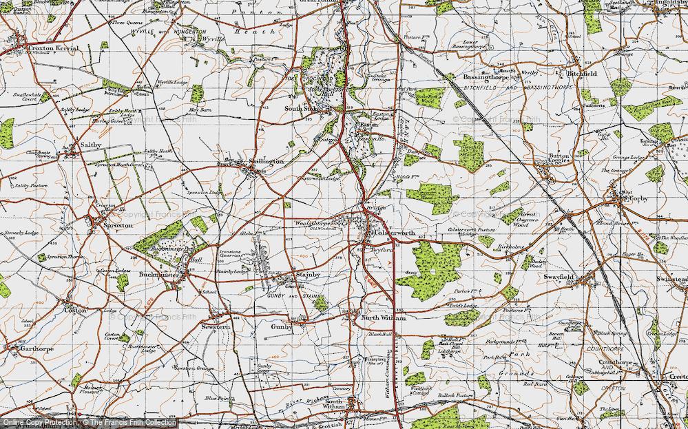 Woolsthorpe-by-Colsterworth, 1946