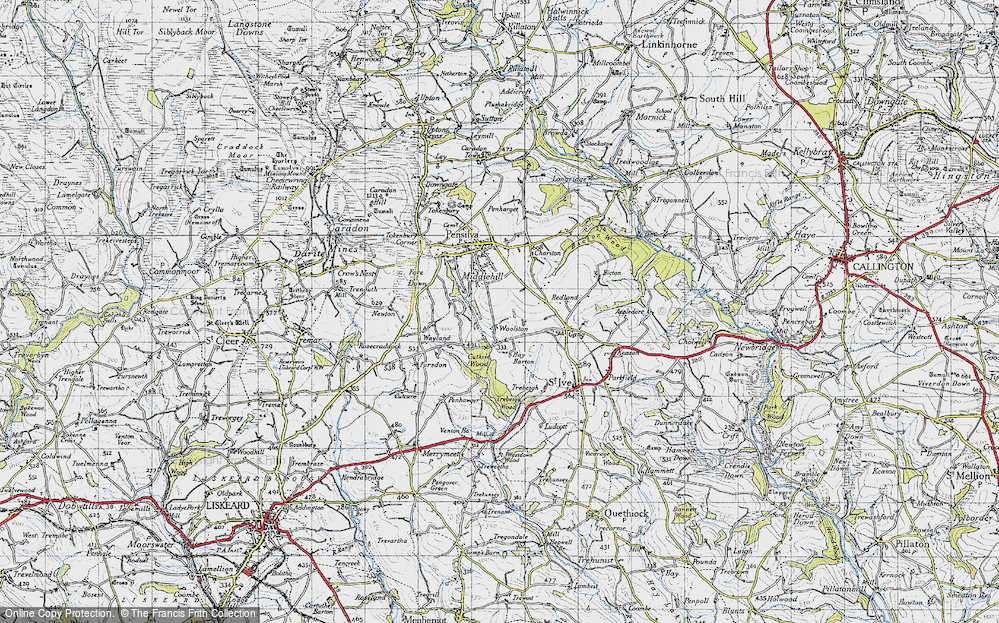 Old Map of Woolston, 1946 in 1946