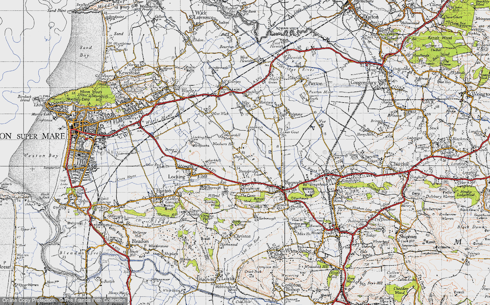 Woolvers Hill, 1946